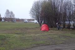 auf dem Campingplatz in Kalix