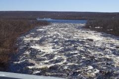 große Stromschnellen im Karasjoki