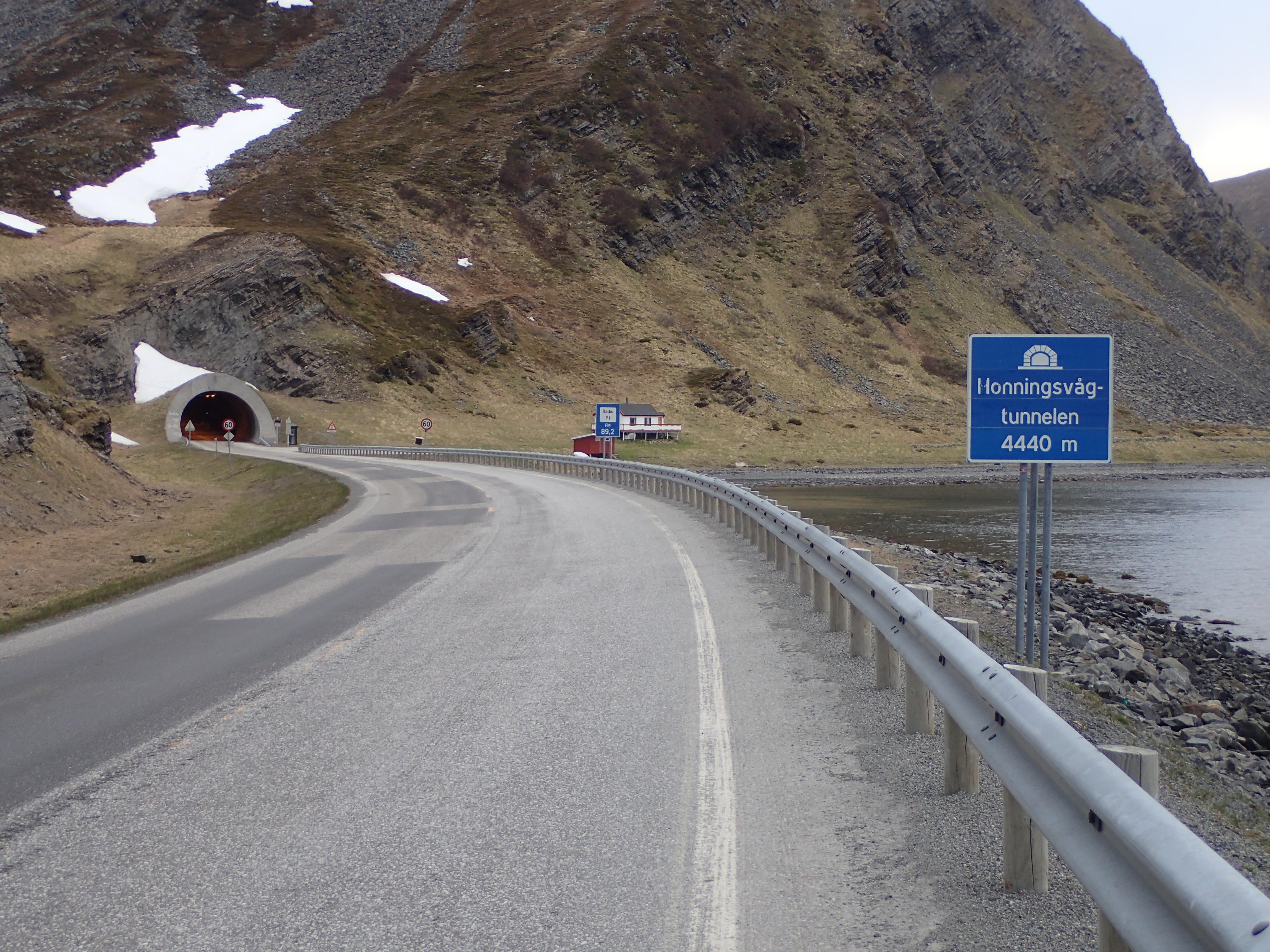 noch ein Tunnel, aber ohne große Steigungen