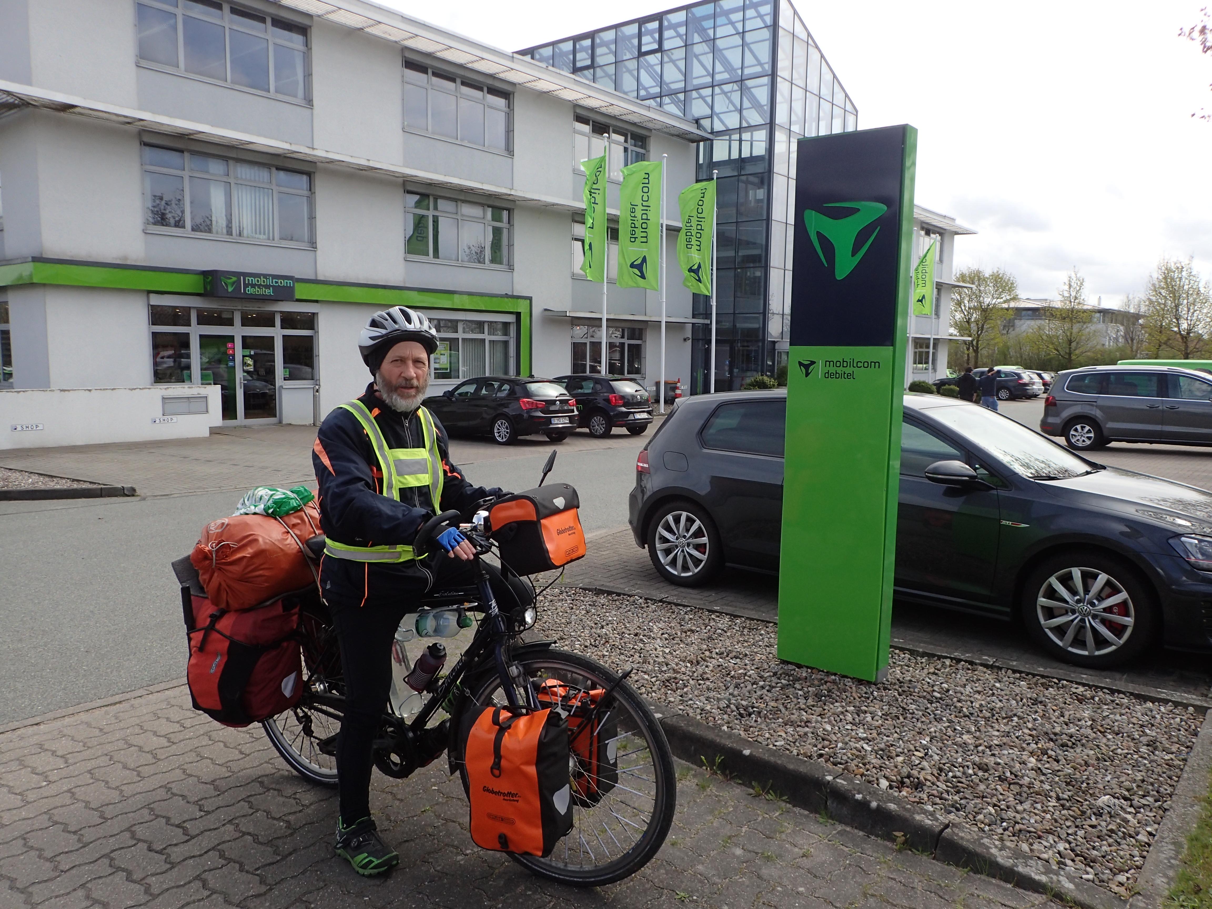 Start in Büdelsdorf nach Arbeitstag im Büro