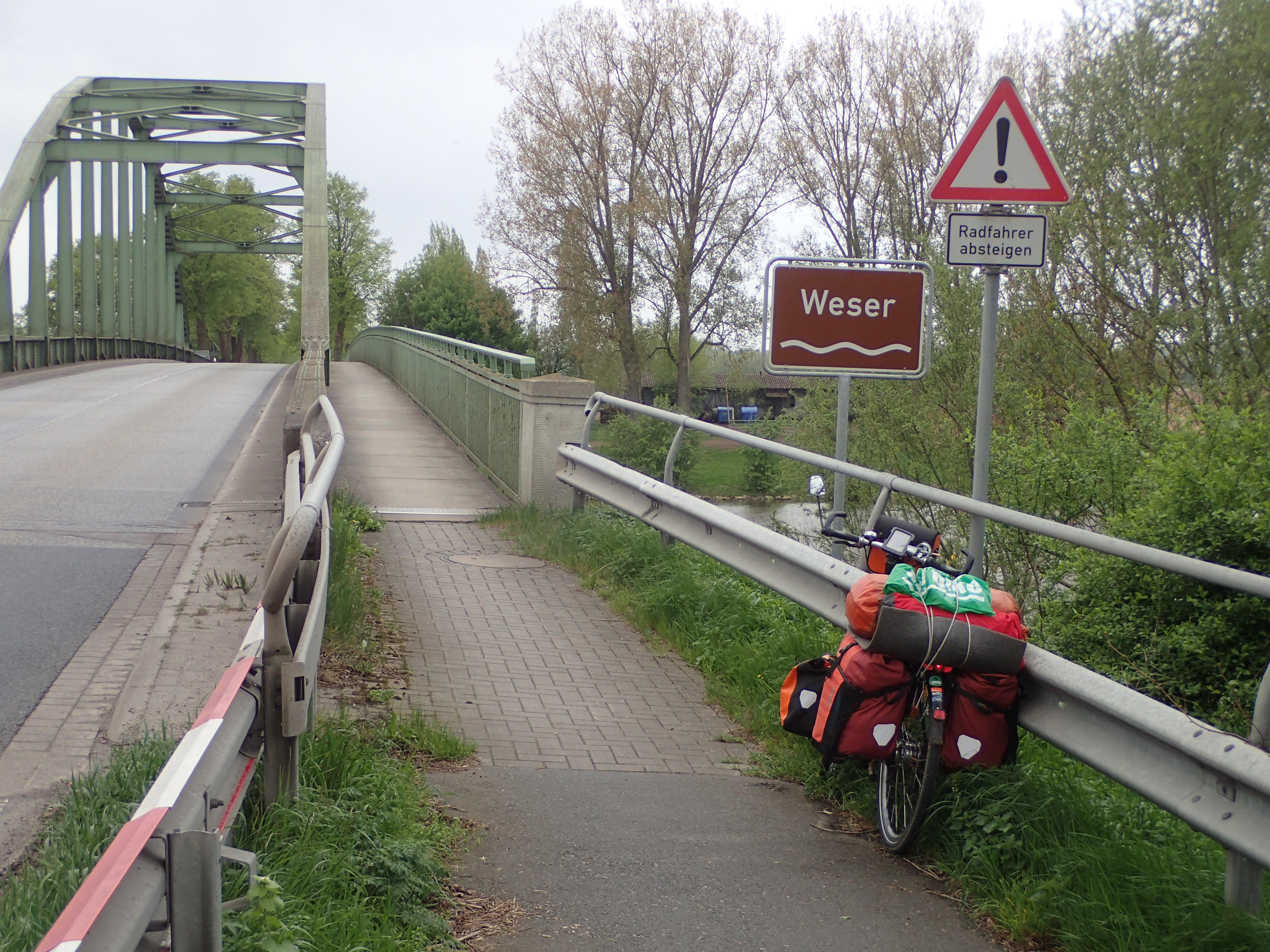 Die Weser ist erreicht