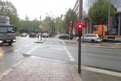 Hamburg: es gibt auch herrlich breite Radwege