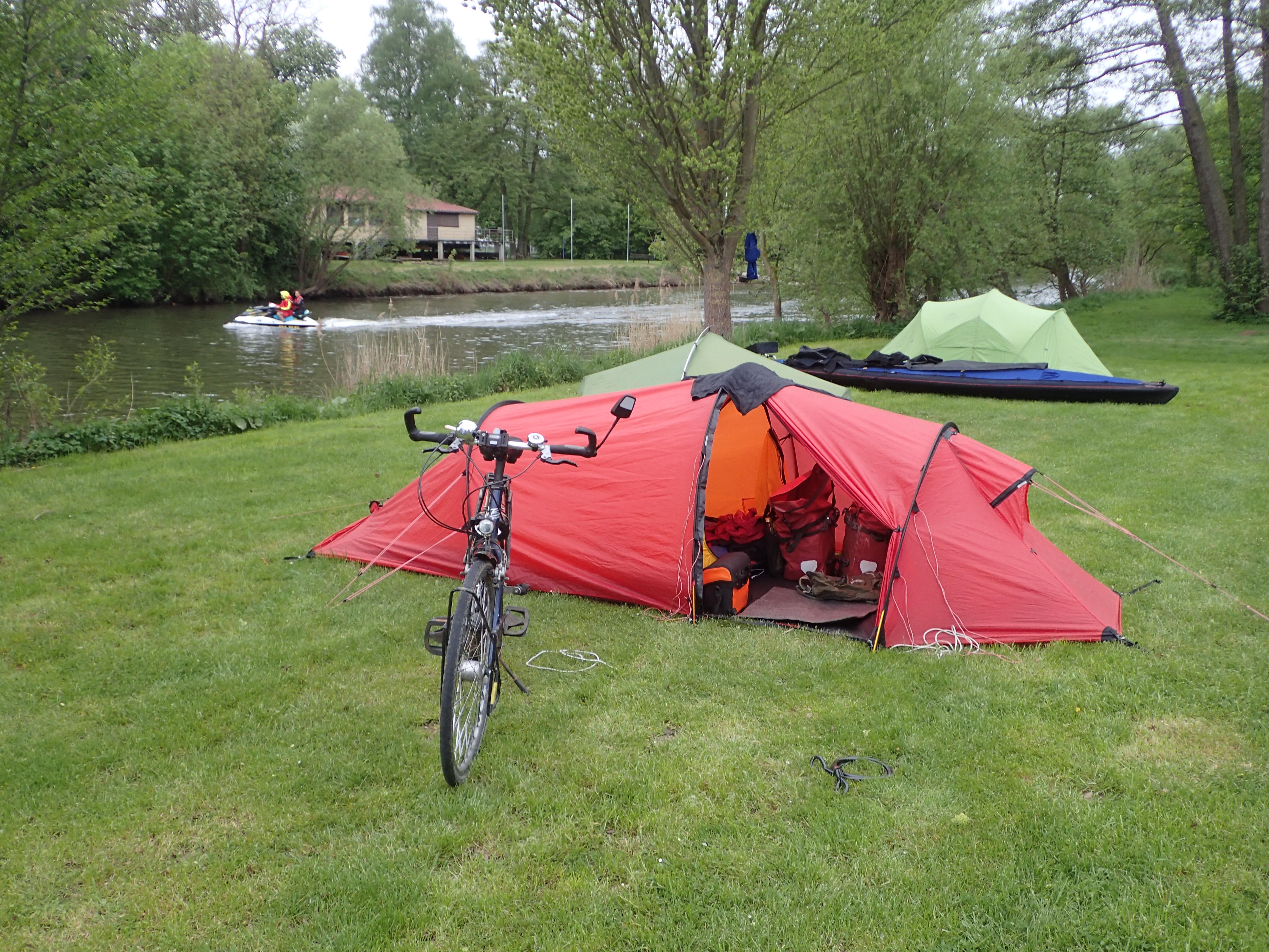 Campingplatz Rotenburg direkt an der Fulda