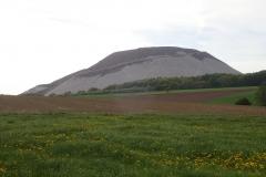 """der große """"Berg"""" kurz vor Frankfurt"""