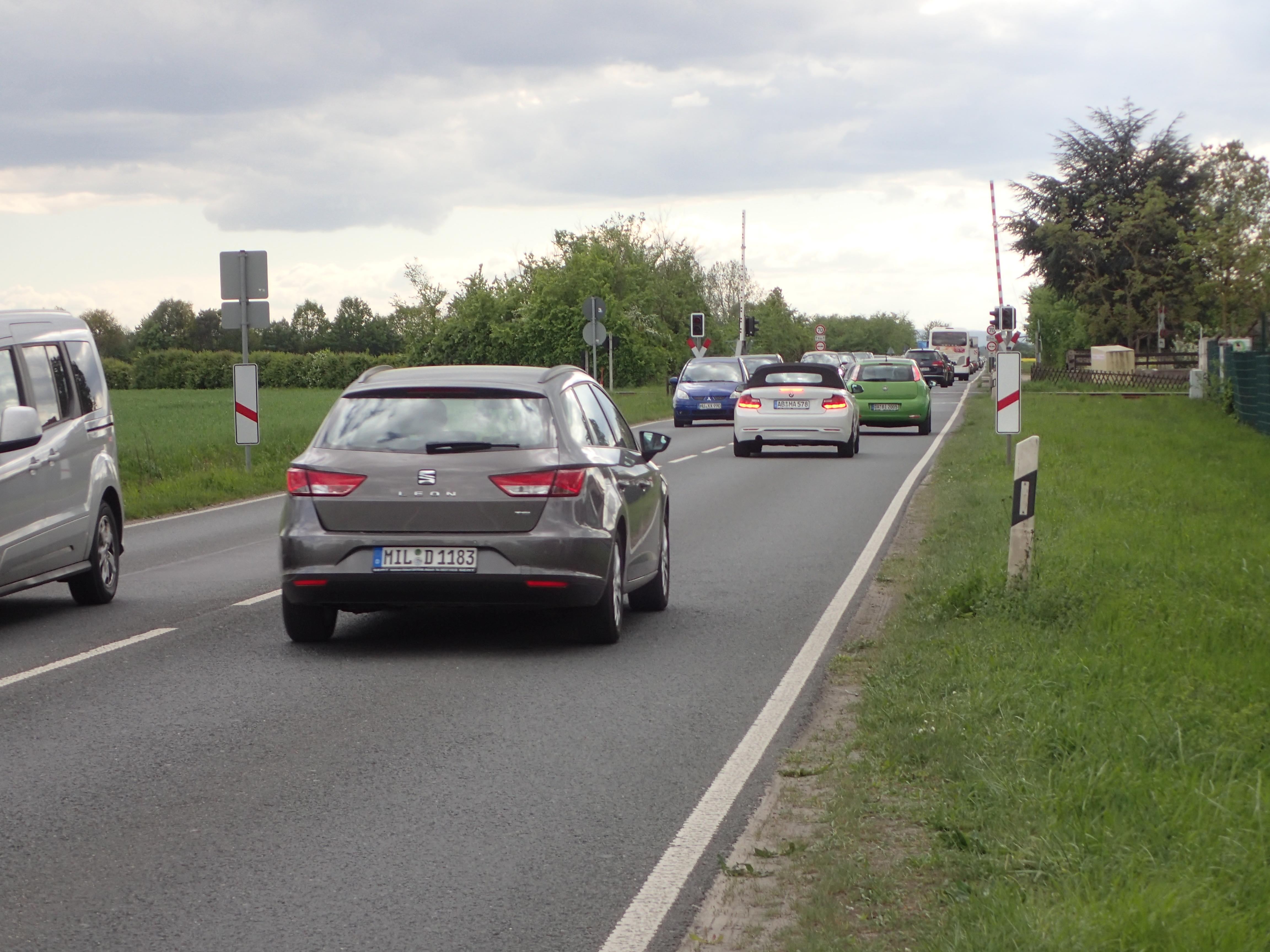 B26, der Horror für Radfahrer am Brückentag 30. April