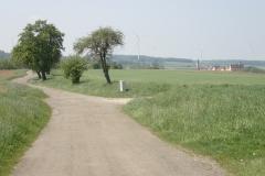 immer wieder schöne Wege zwischen den Feldern